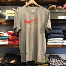 NIKE swoosh air tee (Gray)