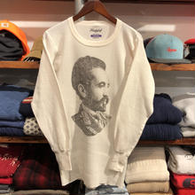 RUGGED on vintage ''SELASSIE'' 80's thermal(M ①)
