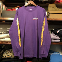 "【残り僅か】RUGGED ""BLUNT FIRE"" L/S tee(Purple)"