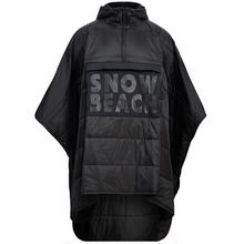 "【Exclusive】POLO RALPH LAUREN ""SNOW BEACH "" Poncho (Black&White)"