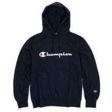 【ラス1】Champion logo sweat hoodie(Navy)