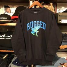 "【ラス1】RUGGED ""蛙"" sweat (Navy/12.0oz)"
