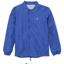 【ラス1】Champion logo coach jacket (Royal Blue)