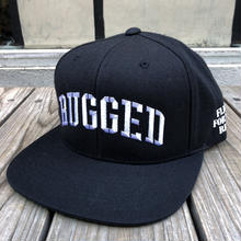 "RUGGED ""ARMY ARCH"" snap back(Black)"