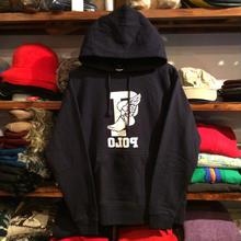 """【残り僅か】DISCO """"OLOP WING"""" hoodie (Navy)"""