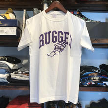 "【ラス1】RUGGED on Champion ""WING FOOT"" tee (White/made in USA)"