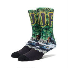 【ラス1】HUF BIG CATS CREW SOCKS
