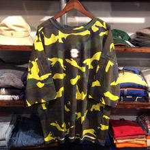 【残り僅か】ViiDA × AnotA camo tee (Yellow)