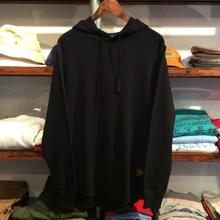 【ラス1】RUGGED thermal hoodie  (10.3oz./Black)