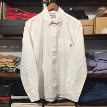 RUGGED B.D oxford shirt(white)