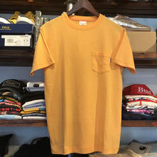 【残り僅か】RUGGED on Champion Basic pocket tee (Yellow)