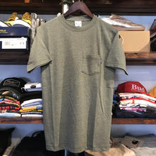 【ラス1】RUGGED on Champion Basic pocket tee (Dark Green)