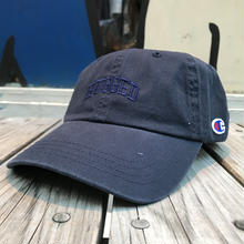 "【残り僅か】RUGGED on Champion ""SMALL ARCH"" adjuster cap(Navy)"