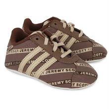 【ラス1】adidas jeremy scott  kids sneaker (Brown)