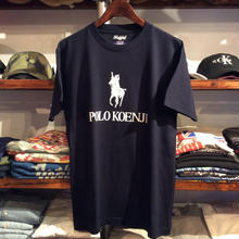 【ラス1】RUGGED ''POLO KOENJI'' tee  (Navy)