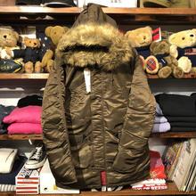 【ラス1】ALPHA Slim Fit N-3B jacket (Brown)