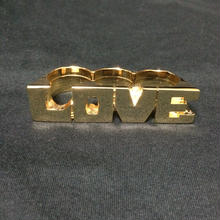 "RUGGED × RUDE BOYZ CLUB ""LOVE"" RING"