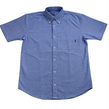 RUGGED s/s oxford shirt(Blue)