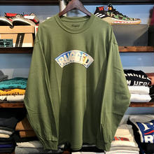 "【残り僅か】RUGGED ""SNOW ARCH"" L/S tee (Khaki)"