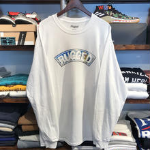 "【ラス1】RUGGED ""SNOW ARCH"" L/S tee (White)"