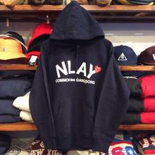 """【ラス1】AnotA """"NLAY"""" sweat hoody(12oz./NVY)"""