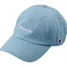 【残り僅か】Champion Denim adjuster cap(Light Blue)