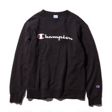 【残り僅か】Champion logo sweat(Black)