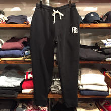 "【残り僅か】RUGGED ""TOKYO JOINTS"" sweat pants (8.4oz./Black/White)"