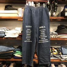 "RUGGED on vintage ""SAT/IND"" easy denim (L) ②"
