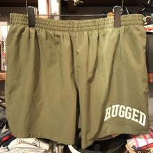 "RUGGED on vintage ""SMALL ARCH""nylon shorts (Olive①)"