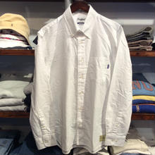 【残り僅か】RUGGED B.D oxford shirt(white)