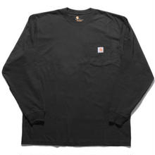 【残り僅か】Carhartt L/S pocket tee (Black)