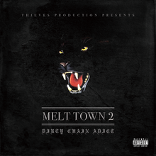 "D.C.A ""MELT TOWN2"" CD ALBUM (サイン付)"