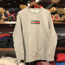 "【ラス1】GUALA ""GEL BOX"" sweat (Gray)"