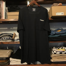 "RUGGED on vintage ""ARCH LOGO"" pocket tee (Black)"