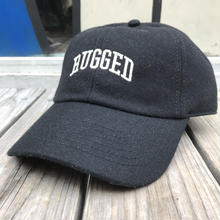 "RUGGED ""ARCH LOGO"" wool adjuster cap (Black)"