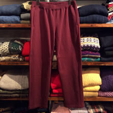【ラス1】Hanes Drawstring Sweatpants(Burgundy)