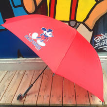 "【ラス1】SECOND LAB ""MICKEY CA""Umbrella(Red)"
