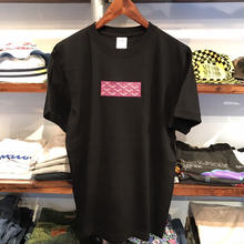 "【残り僅か】AnotA  ""GOX"" tee (Black×Purple)"