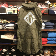 "RUGGED on vintage ""DIA LOGO""mods coat(M) ④"