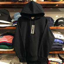 "【残り僅か】RUGGED ""東京高円寺"" heavy-weight sweat hoodie(12.0 oz./Black)"