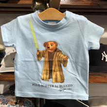 "【ラス1】RUGGED ""POLO MASTER"" kids tee(Light Blue)"