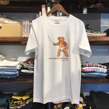 "【残り僅か】RUGGED ""POLO JINGI"" tee (White/Trunks)"