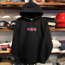 "【ラス1】GUALA ""GEL BOX"" sweat hoody (12.7o.z/Black)"