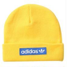 【残り僅か】adidas woven logo beanie  (Yellow)