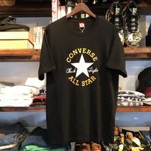【ラス1】CONVERSE logo ALLSTAR tee(Black)