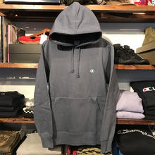 "Champion ""C"" one point sweat hoodie (Windsor Blue)"