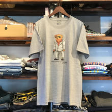 "【残り僅か】RUGGED ""POLO JINGI"" tee (Gray/Suits)"