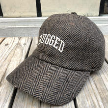 RUGGED ''ARCH LOGO'' adjuster cap (Herringbone Brown)