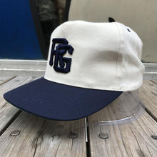 "RUGGED on vintage  ""TOKYO JOINTS"" adjuster cap (White/Navy)"